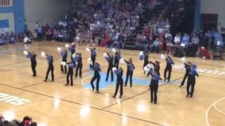 PWHS Varsity poms homecoming 2014