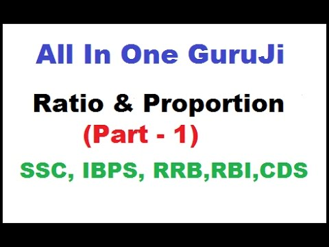 Ratio & Proportion Part - 1 (Tricks By Rakesh Yadav Sir) || SSC CGL || BANK PO||