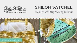 shiloh satchel step by step bag making tutorial