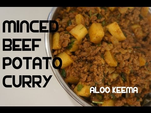 Aloo keema recipe minced beef potato curry indian masala youtube forumfinder Images