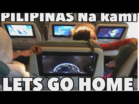 ASA PILIPINAS NA KAMI WOOOHOOO! Going back home