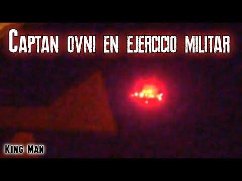 Captan OVNI rojo durante ejercicios militares en Minesota EEUU
