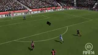 FIFA 14 glitch playing with the substitute sign