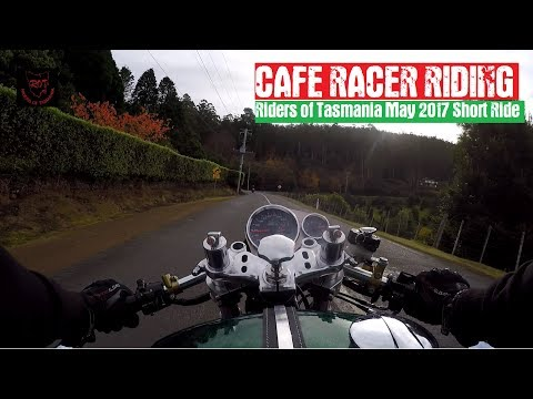 Cafe Racer Riding
