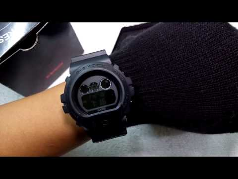 Casio G-Sshock DW6900BB-1A OEM Thailand