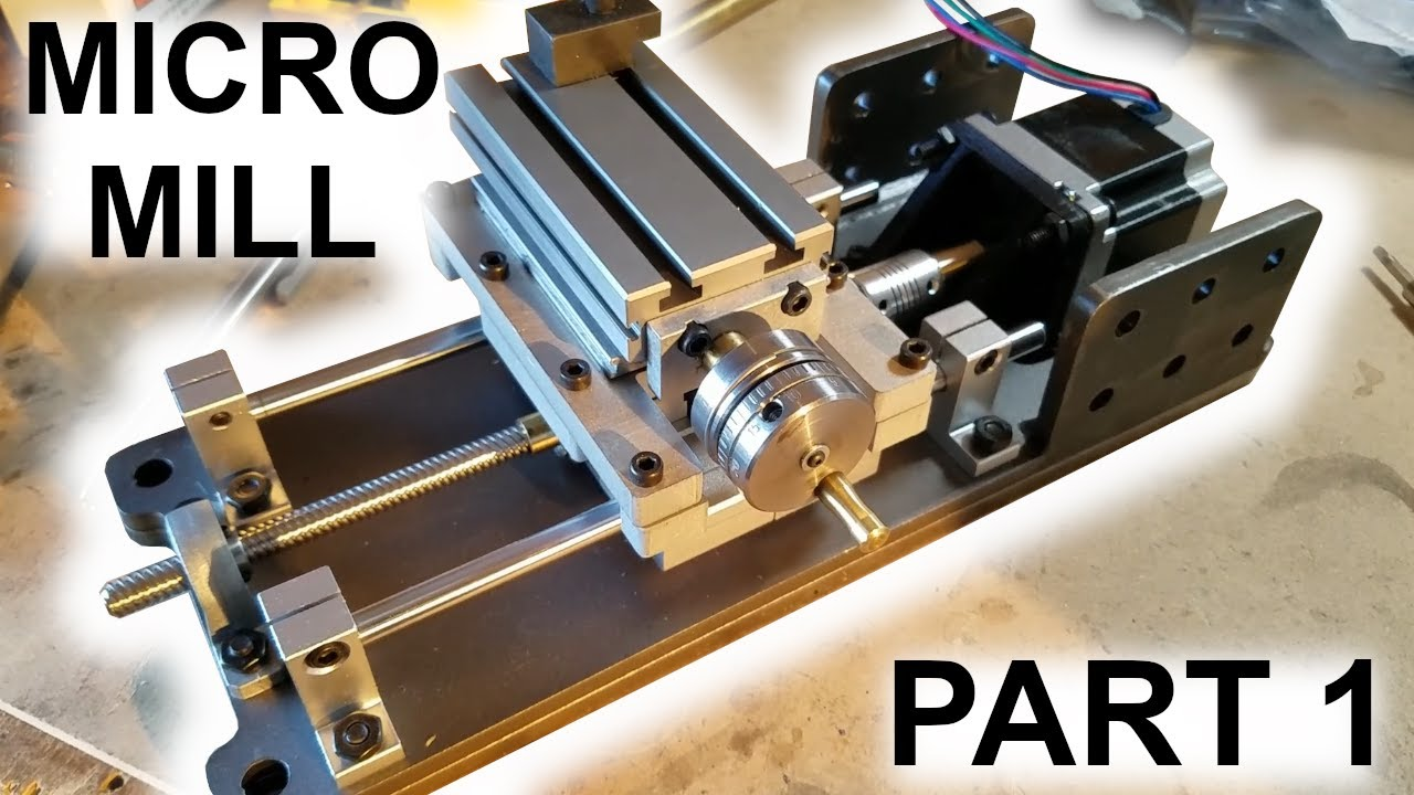 Making a Custom Benchtop Micro Mill