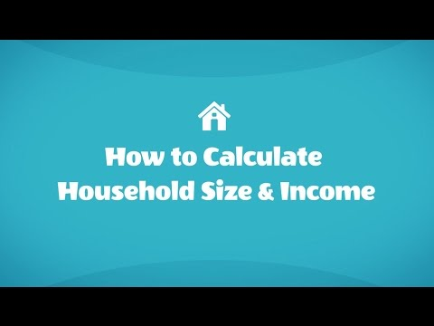 How to Calculate Household Size and Income