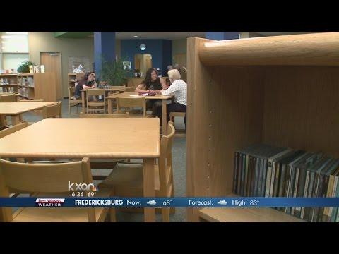 Senior volunteers help students
