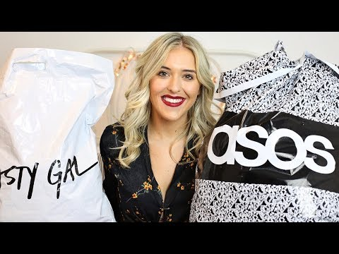 WINTER / FALL HAUL & TRY ON   ASOS, NASTY GAL, SUPERDRY, NEXT, MISSGUIDED   Em Sheldon