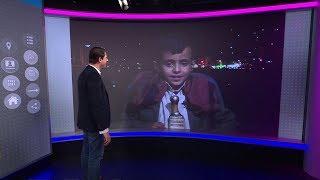 بصوته الساحر طفل يمني يخطف الأسماع في شوارع صنعاء...ويغني في ترندينغ