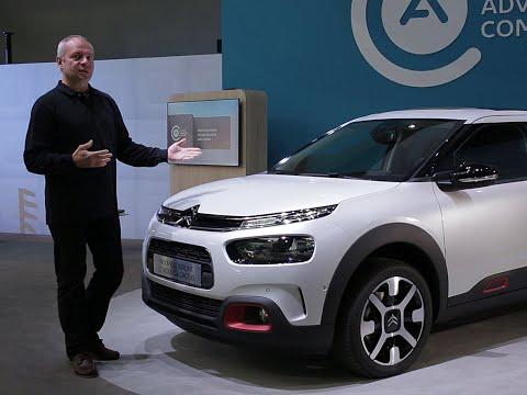 A bord du Citroën C4 Cactus