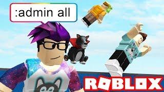 FREE ADMIN IN ROBLOX!
