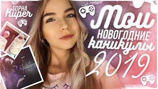 МОИ НОВОГОДНИЕ КАНИКУЛЫ 2019 // КАК ПРОШЕЛ МОЙ НОВЫЙ ГОД