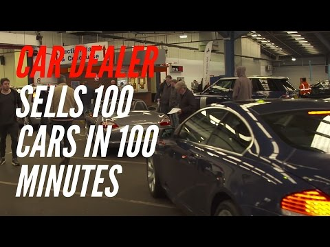 Car Dealer Magazine: Selling 100 Cars In 100 Minutes At BCA