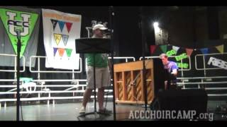 ACC Choir Camp 2012 - Faculty Talent Show - Jordan - Let It Be