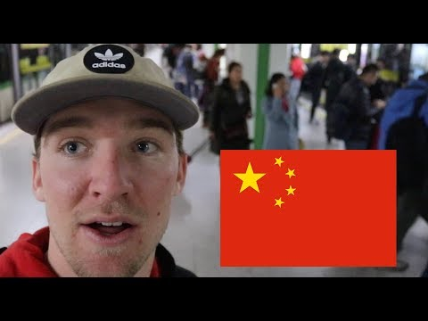Just Arrived in CHINA!! (Travel Vlog)