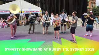 Dynasty Showband At Rugby 7's Sydney