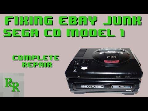 Sega CD Refurbish - Sega CD Won't Turn On - Fixing eBay Junk