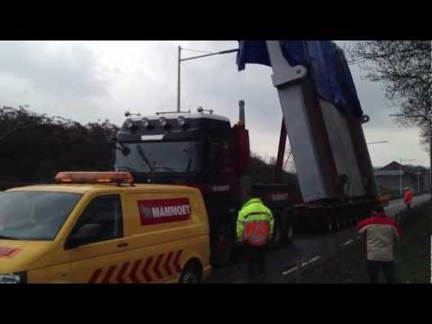 Mercedes Benz Heavy Transport By Mammoet Holland