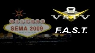 SEMA 2009 Video Coverage: FAST EFI V8TV
