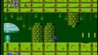 Sonic 2 - SMS - Aqua Lake Zone