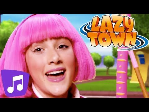 Lazy Town  I Wanna Dance & Many More Music Video