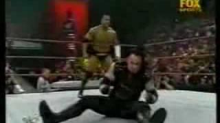 Undertaker vs The Rock Casket Match
