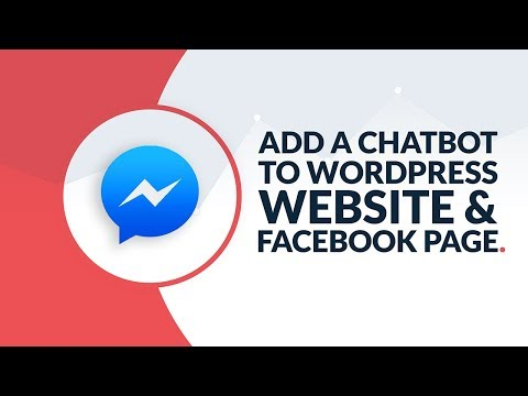 How To Add A Chat Bot to Your Website and Facebook Page | WordPress + Divi Theme