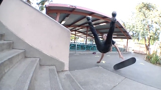 100 SKATEBOARD SLAMS! / Skateboard Fail Montage