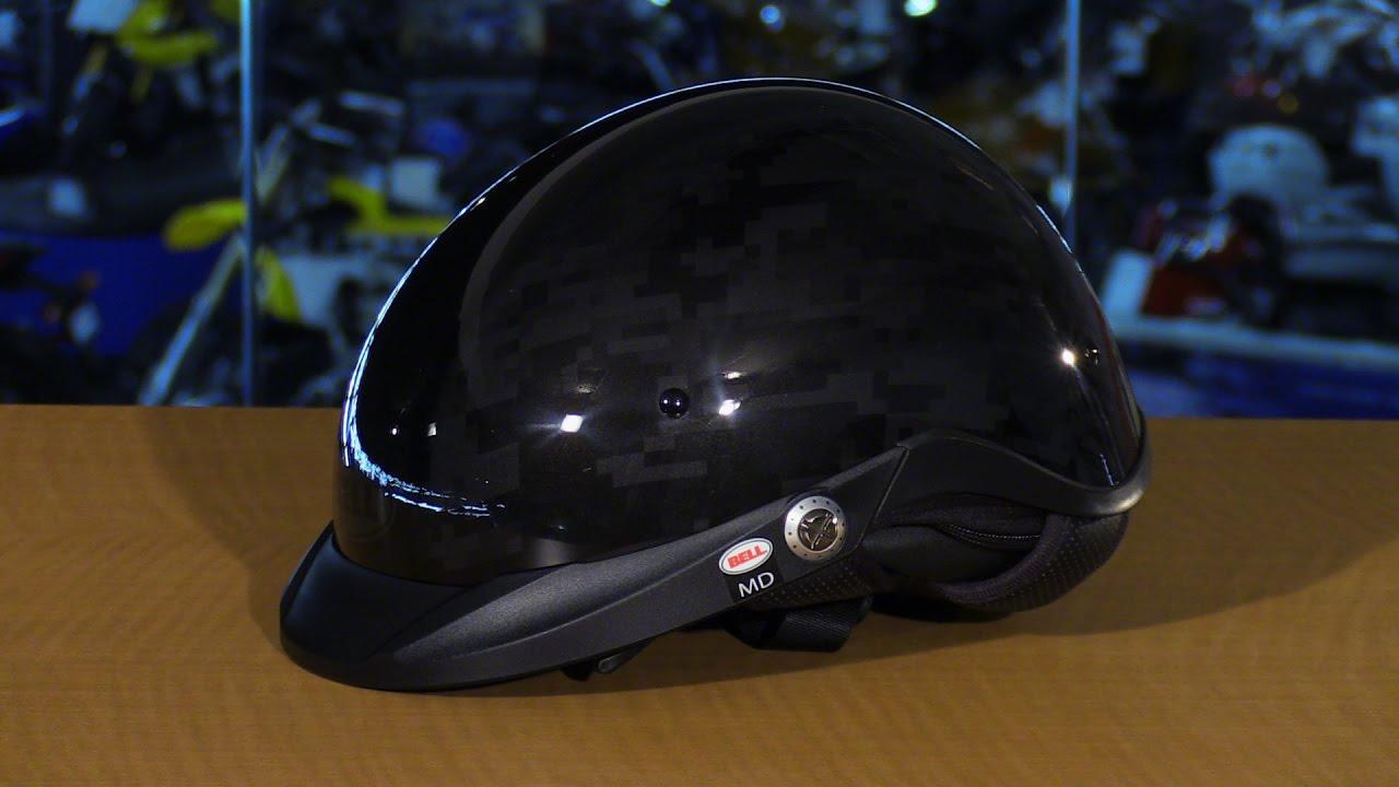 14e59fa3 Bell Helmets Pit Boss Black Ops Camo Motorcycle Half Helmet Review ...
