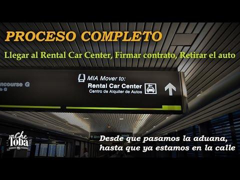 Cómo Retirar El Auto Alquilado En El Aeropuerto De Miami