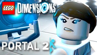 PORTAL 2 Level Pack! LEGO Dimensions - Gameplay Walkthrough Part 18 (PS4, Xbox One)