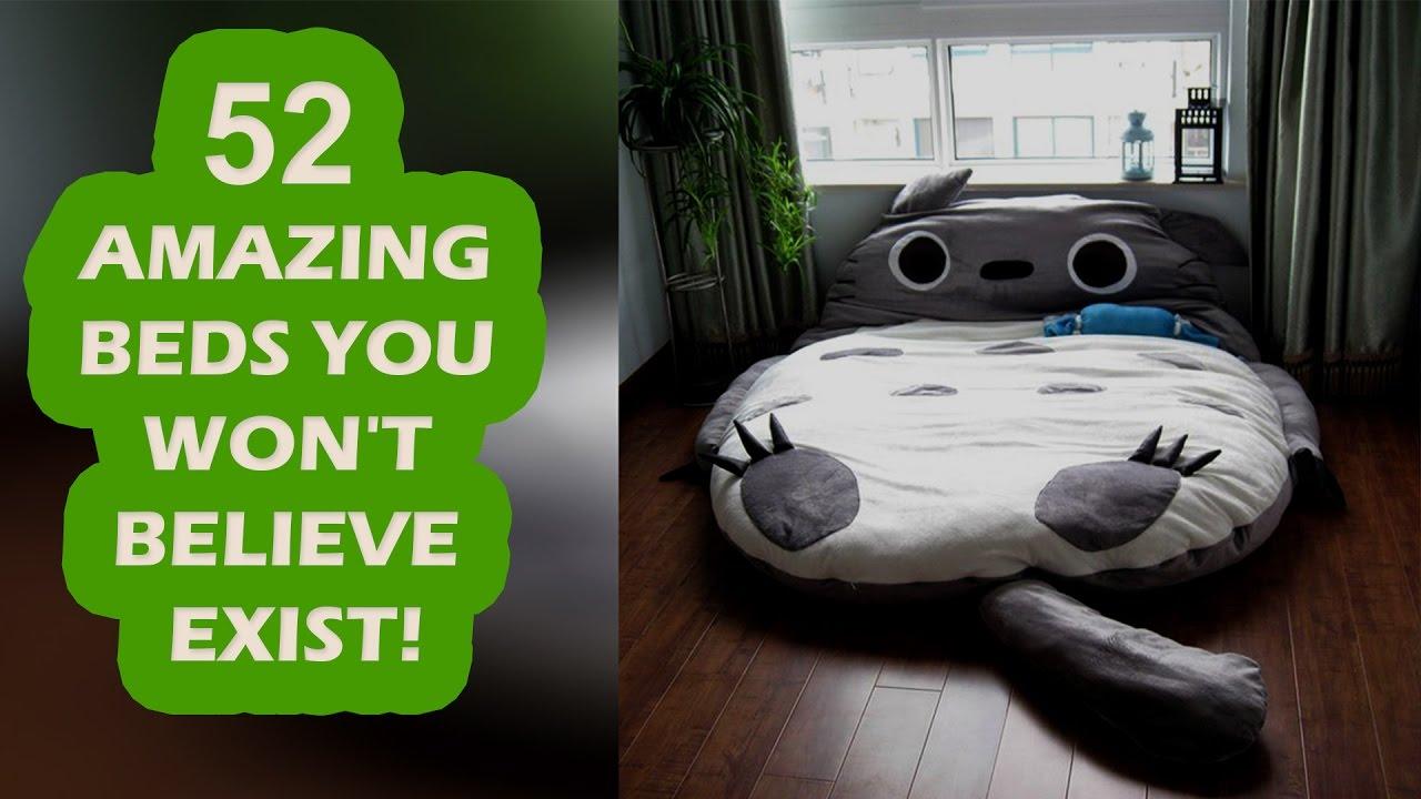 Strange Beds 52 amazing beds you won't believe exist! - youtube