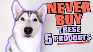 5 Things You Should NEVER BUY For Your Husky! (GIVEAWAY WINNER ANNOUNCED)