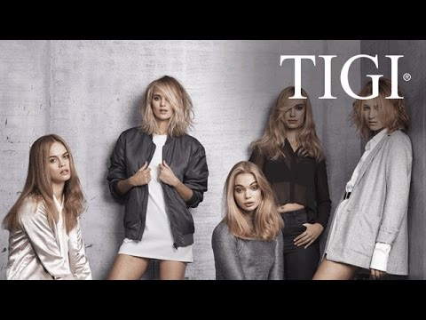 TIGI copyright©olour - NEW ©ustom collection blondes 2016