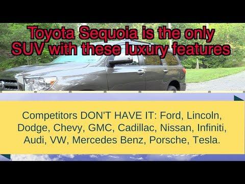 2020 Toyota Sequoia vs Navigator, expedition, armada, qx80, escalade, durango, tahoe, suburban
