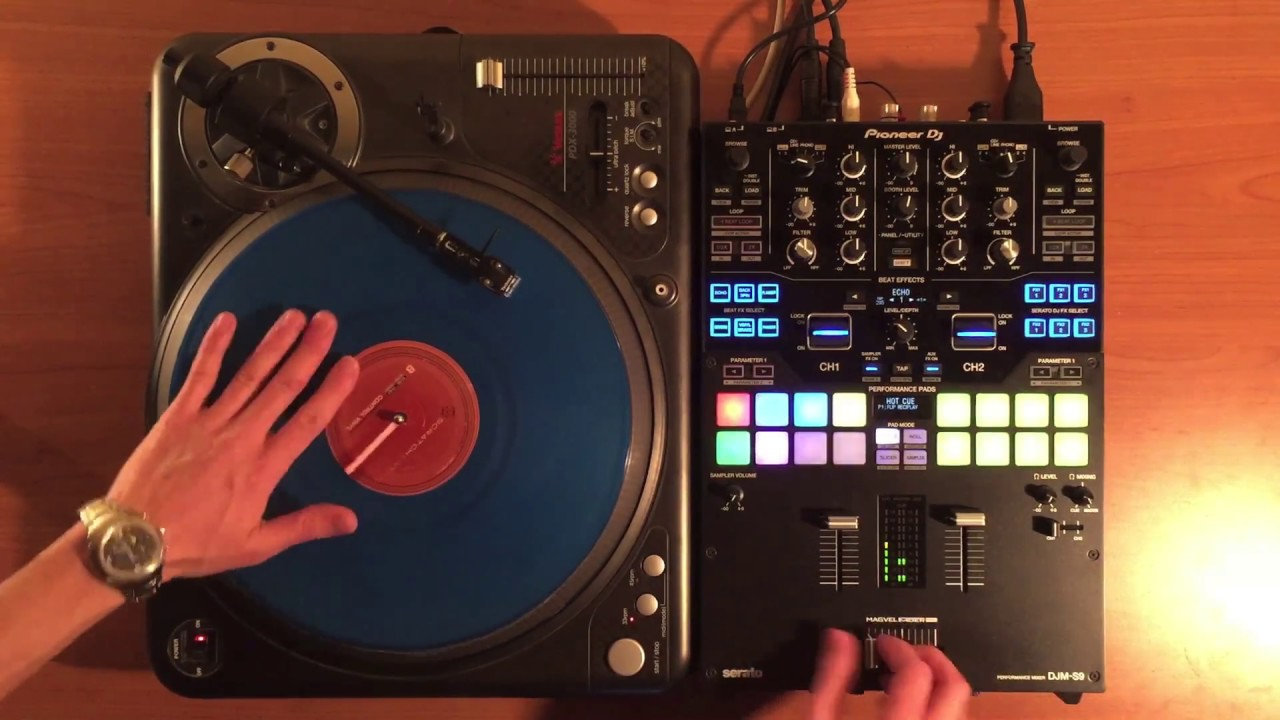 pioneer dj djm s9 battle mixer live review scratch dj test youtube. Black Bedroom Furniture Sets. Home Design Ideas