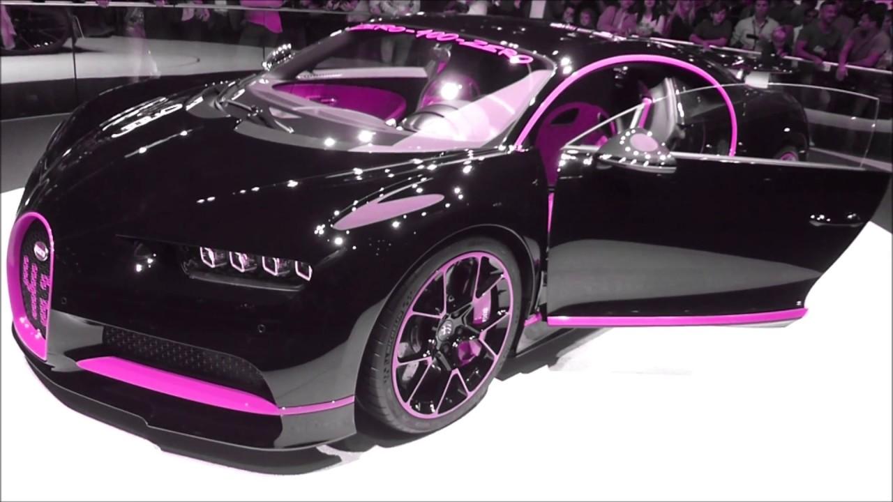 2017 color changing bugatti chiron ''42 seconds'' 8.0 w16 1500 hp