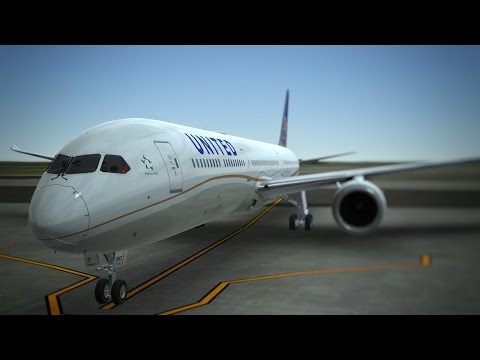 Infinite Flight United Airlines Boeing B787 - 10 Dreamliner KLAX - KSAN