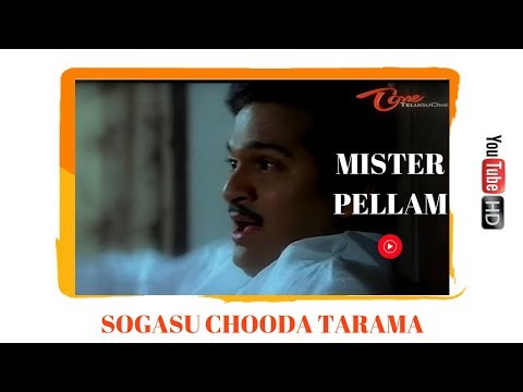 Mr Pellam Songs - Sogasu Chooda Taram - Rajendra Prasad - Aamani
