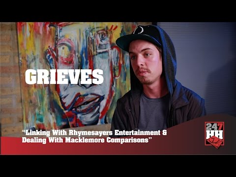 Grieves - Linking With Rhymesayers & Dealing With Macklemore Comparisons (247HH Exclusive)