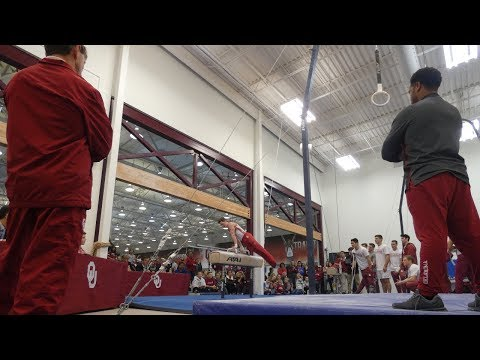 Will Nebraska Upset Oklahoma Men's Gymnastics