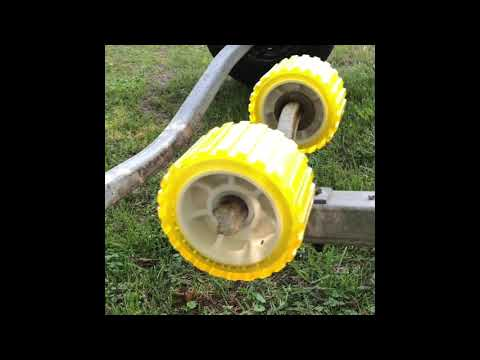 Replacing Boat Trailer Wobble Rollers  Need To Know