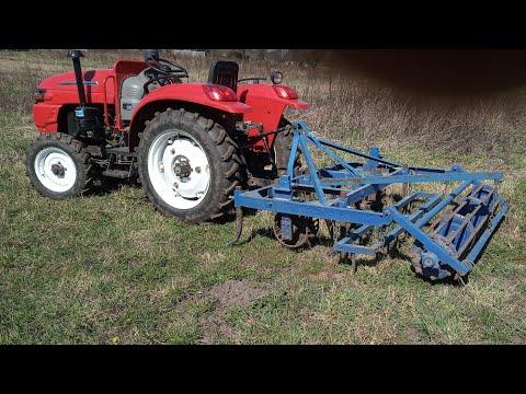 Посев кормовой свеклы! Подготовка почвы, под сев минитрактором Xintai244Xl