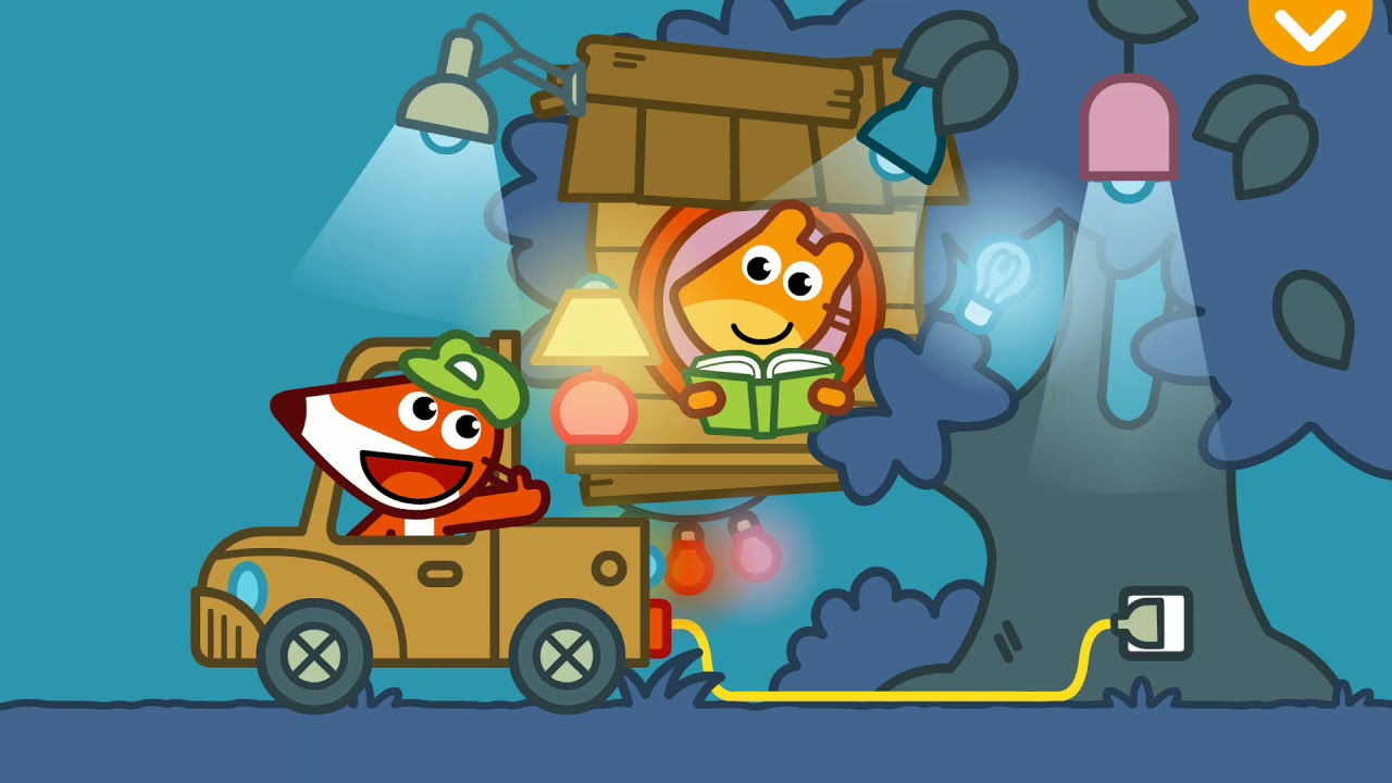 Download FOX Handyman with Pango Storytime smart intuitive story app for kids Gameplay