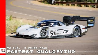 Volkswagen I.D.  R Pikes Peak Fastest Qualifying of All Competitors