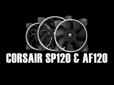Corsair Air Series Fans Review - Quiet & Performance SP120 AF120 AF140