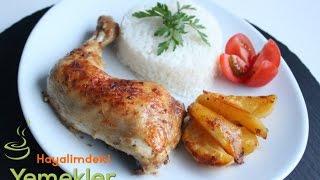 Fırında Tavuk But Tarifi - Hayalimdeki Yemekler
