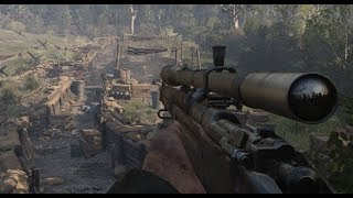 Call of Duty WW2 Campaign Sniper Mission Gameplay HD