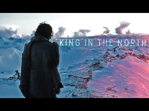 (got) jon snow | king in the north